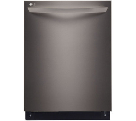 LG Fully Integrated Dishwasher with Height-Adjustable 3rd Rac