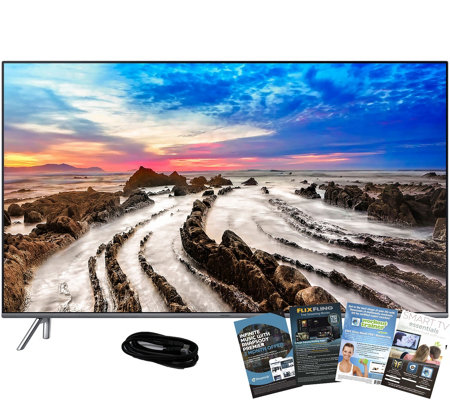 "Samsung 65"" LED 4K HDR Smart Ultra HDTV with HDMI & App Pack"