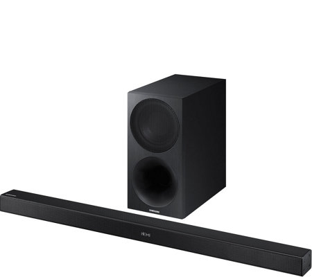 Samsung 2.1-Channel 320W Soundbar and WirelessSubwoofer