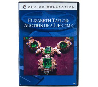 The Elizabeth Taylor: Auction of a Lifetime DVD - E227319
