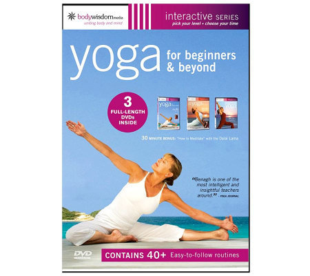Yoga for Beginners 3-Disc DVD Set