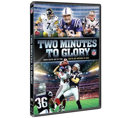 NFL Two Minutes to Glory DVD