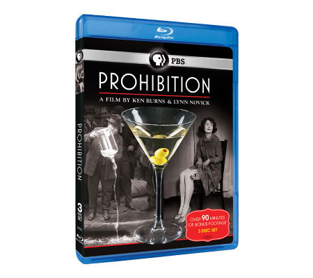 Ken Burns: Prohibition - Blu-ray 3-Disc Set