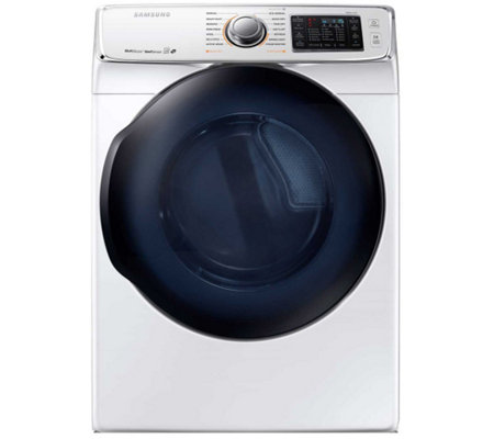 Samsung 7500 Series 7.5 Cubic Foot Electric Dryer - White