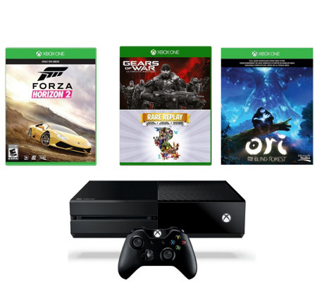 Xbox One 1TB Bundle w/ Forza Horizon 2, Gears of War, and Mor