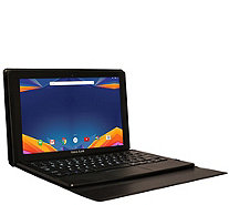 "Visual Land 11.6"" 32GB Android Tablet with Keyboard Case - E290019"