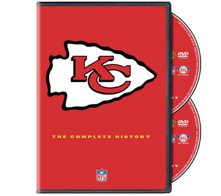 NFL History of the Kansas City Chiefs 2-Disc DVD Set