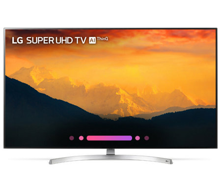 "LG 55"" Class 4K HDR Smart LED AI Super UHD TV with ThinQ"