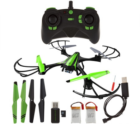 Sky Viper 720p HD Video Drone DuraFlex Body Spare Parts & 2 Extra Battery
