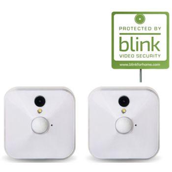 Ships 9/12 Blink Set of 2 Security Camera w/ Motion Alert Live Monitoring