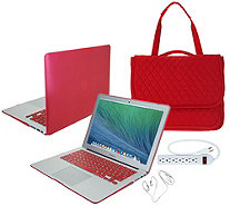 "Apple MacBook Air 13"" Bundle w/ Accessories Clip Case and 3-in-1 Tote Bag - E230820"