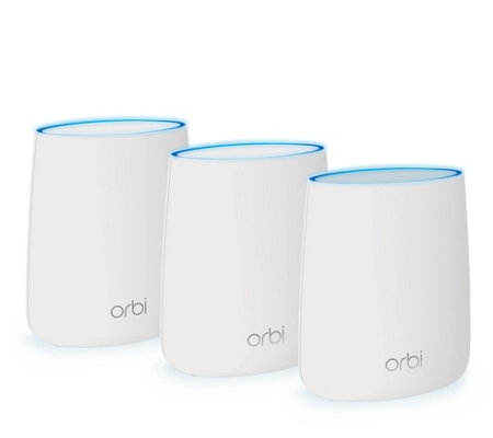 NetGear Orbi 3-Pack AC2200 Home Wi-Fi System with Parent Controls