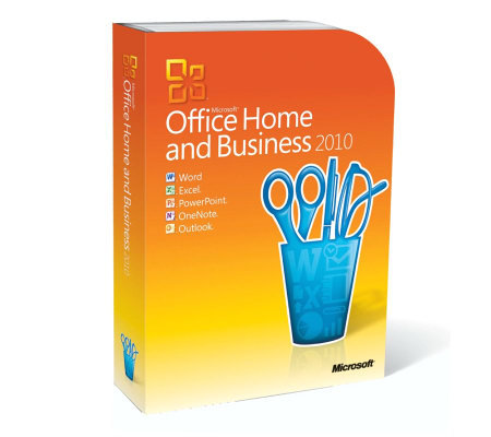 Microsoft Office 2010 Home & Business - 32-/64-bit
