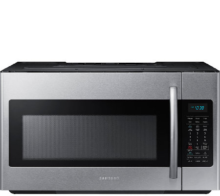 Samsung 1.8 Cu. Ft. Over-the-Range Microwave -Stainless Steel