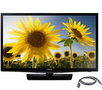 "Samsung 28"" Class Slim Design LED HDTV with HDMI Cable - E287220"