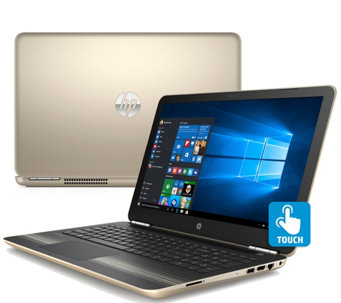 "HP Pavilion 15"" Touch Laptop - AMD A9, 8GB RAM,1TB HDD - E289920"