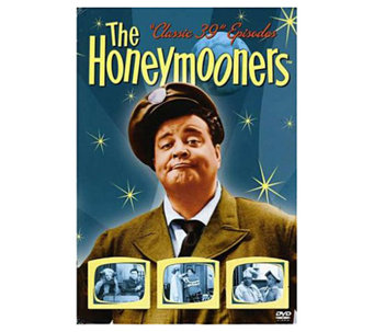 The Honeymooners Classic 39 Episodes 1955-56 Five-Disc Set DV - E263621
