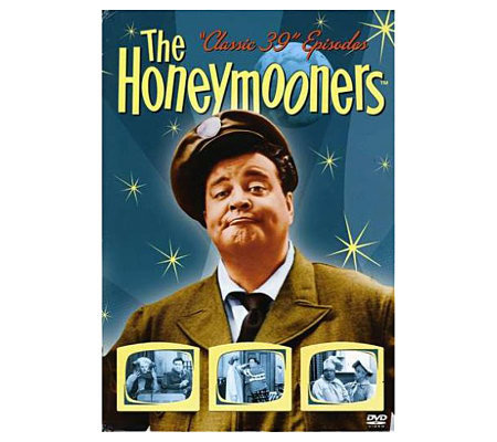 The Honeymooners Classic 39 Episodes 1955-56 Five-Disc Set DV