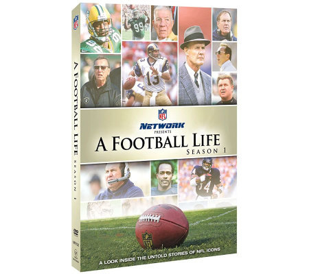 NFL A Football Life, Season 1, Four-Disc DVD Set
