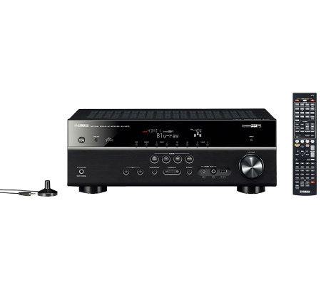 Yamaha 7 2 channel 3d ready a v receiver with zone b for Yamaha multi zone receiver