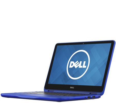 "Dell 11.6"" 2-in-1 Laptop - 4GB RAM, 500GB HDD,1-Yr MS Office"