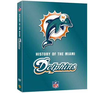NFL History of the Miami Dolphins 2-Disc DVD Set - E290421
