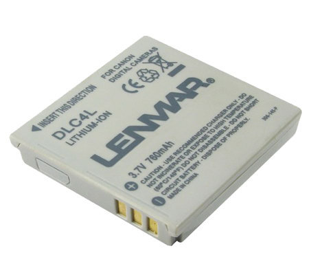 Lenmar DLC4L Canon Digital Camera Battery
