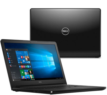"Dell 15"" Laptop AMD Quad Core Windows 10,1TB HDD, Software, & Lifetime Tech"