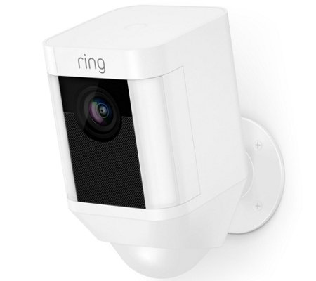 Ring Spotlight Cam, Outdoor HD Surveillance Two-Way Talk Wire-Free