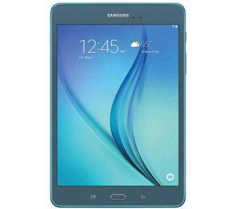 "Samsung 8"" Galaxy Tab A Tablet - Quad-Core, 16G B, 1.5GB RAM - E282822"