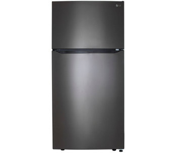 LG 24-Cubic Foot Top-Mount Refrigerator with Ice System - E288722