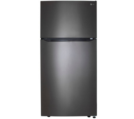 LG 24-Cubic Foot Top-Mount Refrigerator with Ice System