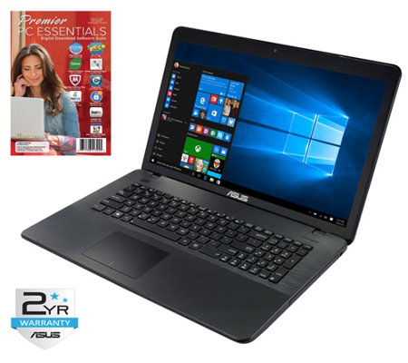 "ASUS 17.3"" Laptop - Intel Quad-Core, 8GB RAM, 1TB HDD"