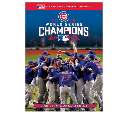 Chicago Cubs 2016 World Series Champions DVD
