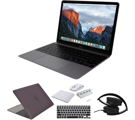 "Apple MacBook 12"" Retina 256GB with Accessories- Space Gray"
