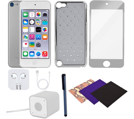 Apple iPod Touch 6th Generation 128GB & Accessories - Silver