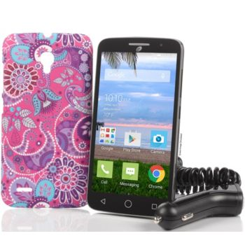 TracFone Alcatel One Touch Pop Icon LTE 2 with 1200 Min/Text/Data