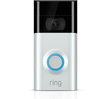 Ring Video Doorbell 2 HD Surveillance Two-Way Talk w/ Night Vision