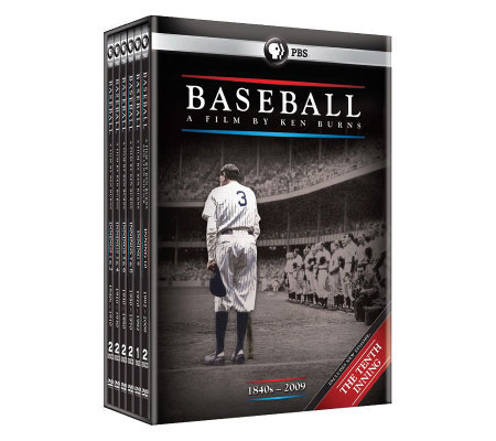 Baseball: A Film by Ken Burns 2010 Boxed Set DVD