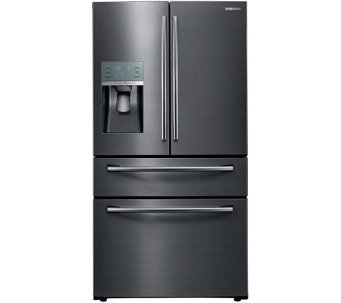 Samsung 27.8 Cu.Ft. 4-Door Refrigerator - BlackStainless - E288923