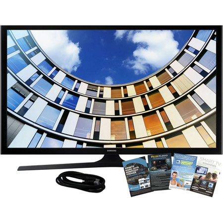"Samsung 40"" M5300 LED Smart HDTV, 6' HDMI Cable, and Software"