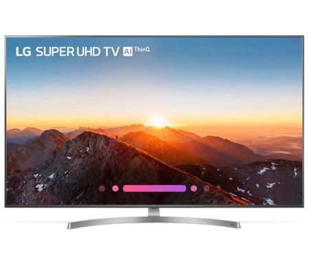 "LG 55"" Super UHD 4K ThinQ AI LED TV w/ Nano Cell Display, HDR"