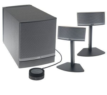 bose companion 5 multimedia speaker system page 1. Black Bedroom Furniture Sets. Home Design Ideas