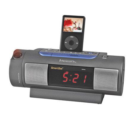 Emerson IC172 SmartSet Clock Radio w/Dual Alarms and iPod ...
