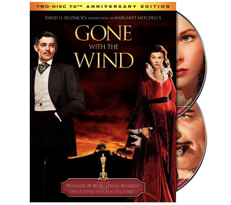 Gone With the Wind Special Edition DVD 2-Disc Set