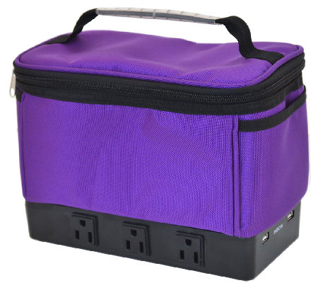 Power Solution Bag with 6 Power Outlets & 2 USBPorts
