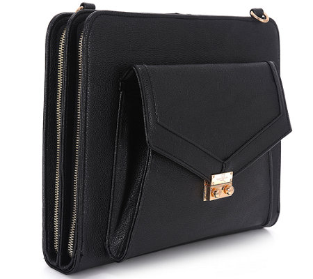 "Sandy Lisa Universal 10"" Tablet Tote with Adjustable Strap"