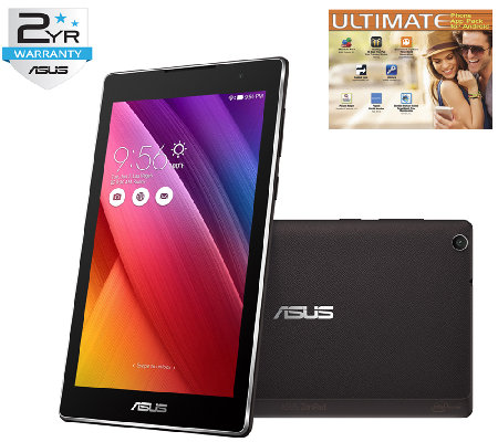 "ASUS 7"" ZenPad - Intel Quad-Core, 16GB eMMC Memory & Software"