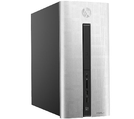 HP Pavilion Desktop - AMD A10, 8GB RAM, 1TB HDDwith Software