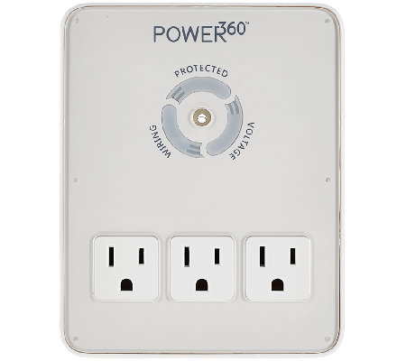 Panamax Power 360 Six Outlet and 2 USB Charging Wall Mount